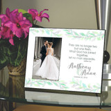Two Become One Personalized Wedding Frame