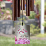 Personalized wind chimes for loss of sister