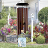When the Wind Blows Know I am Near Memorial Wind Chime