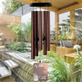 Personalized memorial wind chimes for loss of child