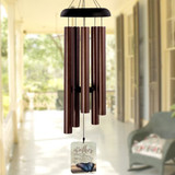 Personalized memorial wind chimes for loss of mom