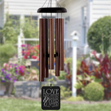 Love Laughter Wedding Personalized Wind Chime