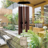 Personalized wind chimes for wedding gift