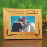 Personalized Father of the Groom Picture Frame