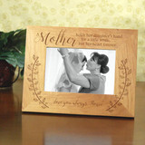 Personalized Mother of the Bride Picture Frame