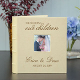 Wedding photo album gift for parents