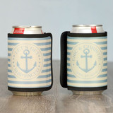 Nautical Theme wedding koozie