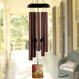 Listen to the wind personalized memorial wind chime