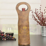 Cheers to Retirement Wine Gift Bag Brown