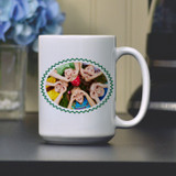 Coffee mug personalized with photo