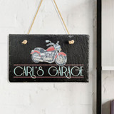Motorcycle Personalized Garage Sign