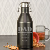 EST. Dad Personalized Growler