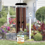 Grandmother's Heart Wind Chime