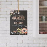 Welcome to our Home personalized sign is a great gift for new homeowners