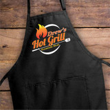 Personalized Apron for Him when he tends the grill