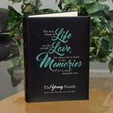 Life Love Memories Personalized Family Photo Album