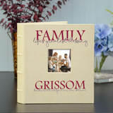 Personalized Family Blessing Album