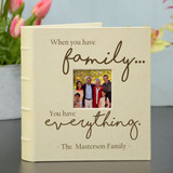 Family is Everything Photo Album Personalized