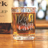 Mancave Personalized Shot Glass