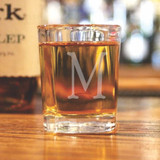 Monogramed Shot Glass