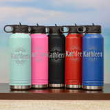 Ray of Sunshine Personalized Water Bottle