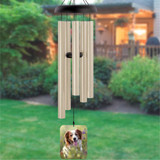 Pawprints Photo Wind Chime