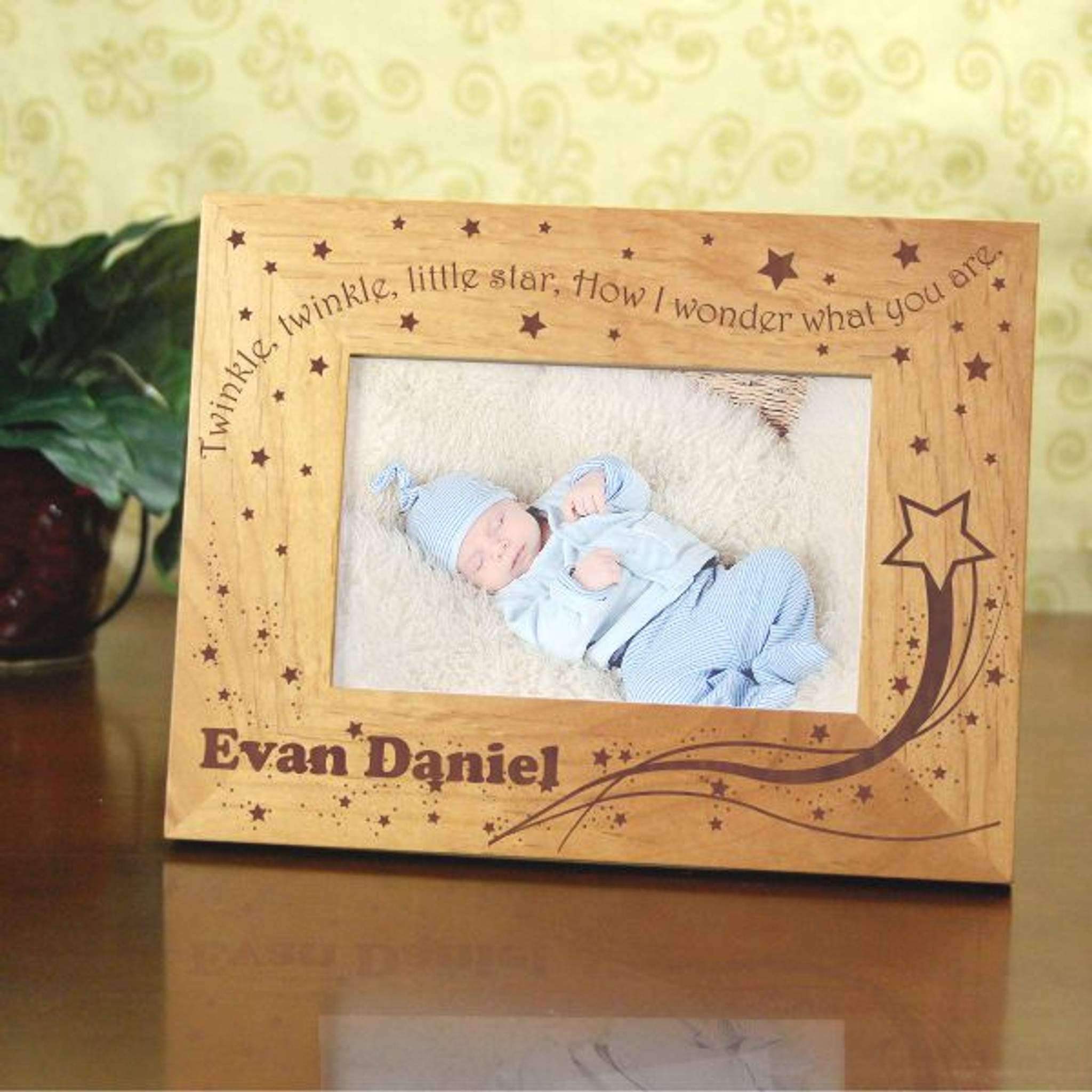 a564b2fde32 Little Star Personalized Baby Frame