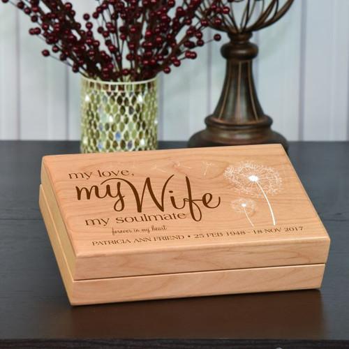 My Wife Personalized Keepsake Box
