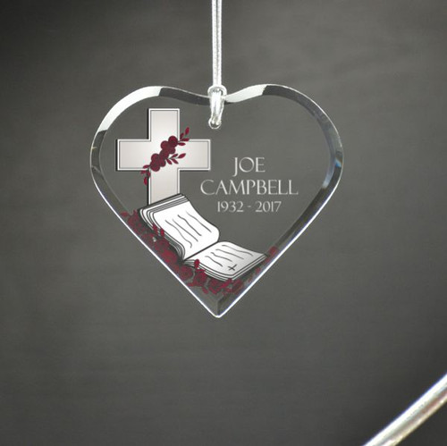The Faithful Personalized Memorial Ornament