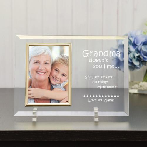 Spoiled by Grandma  Frame