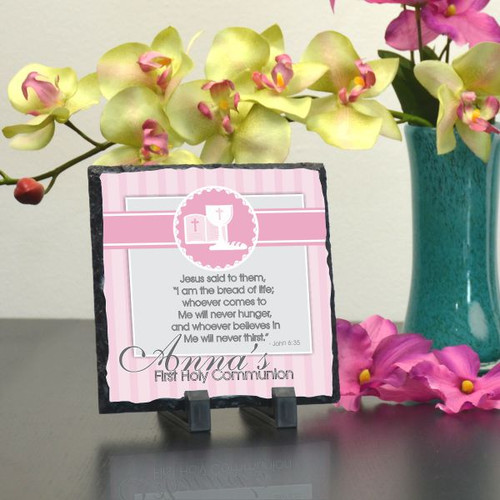 Bread of Life Pink Plaque