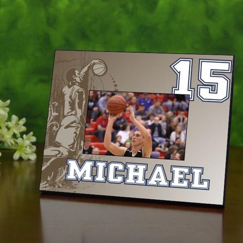 Retro Basketball Picture Frame