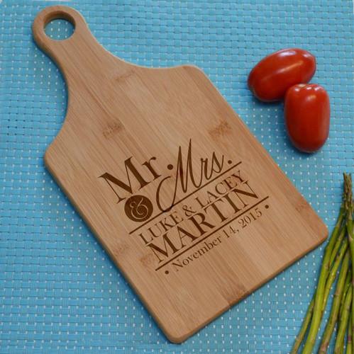 Mr. & Mrs. Cutting Board