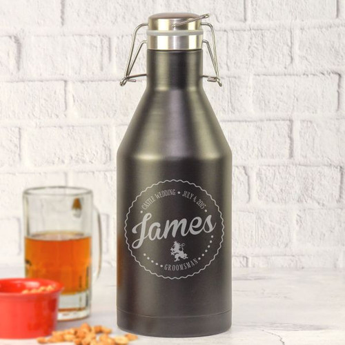 Groomsman Private Label Growler