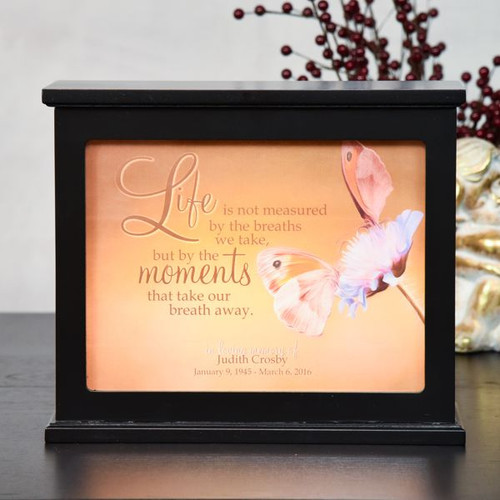 Life's Moments Memorial Light Box