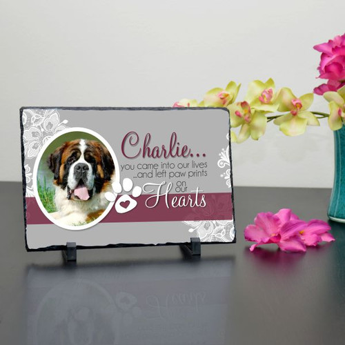 Pet in Our Lives Large Photo Plaque
