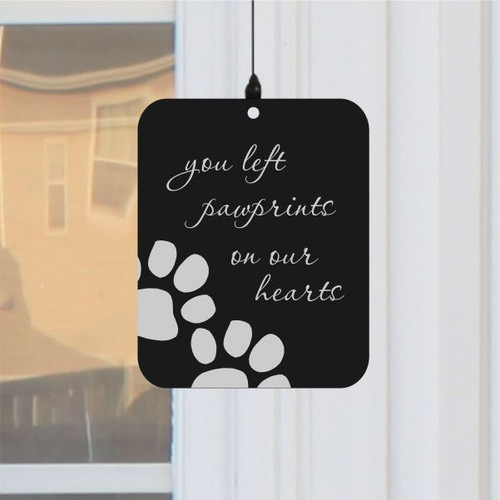Paw Prints Memorial Wind Chime