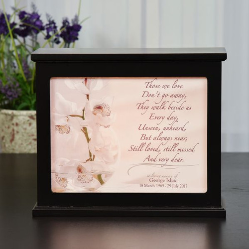 Those We Love Memorial Light Box