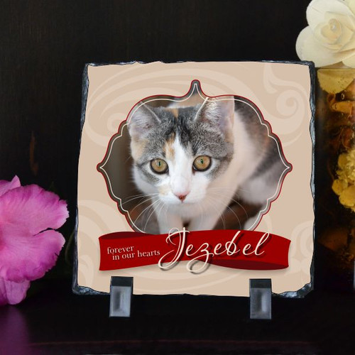 Our Pet Forever Small Photo Plaque