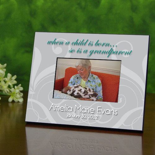 New Grandparent Personalized Picture Frame
