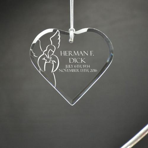 Angel Heart Ornament
