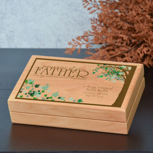 Memories of you, Father Keepsake Box