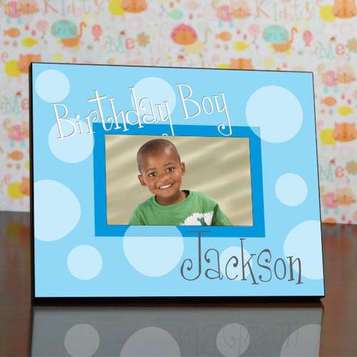 Polka Dot Birthday  Frame