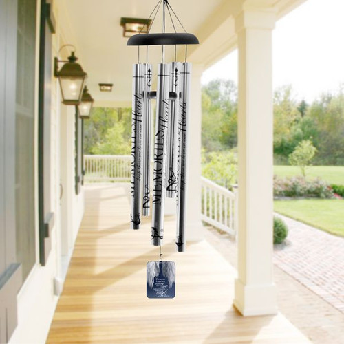 Sending Love Memorial Wind Chime