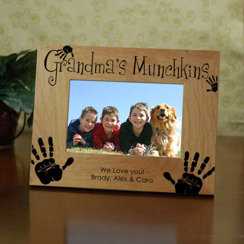 Grandma's Munchkins Picture Frame