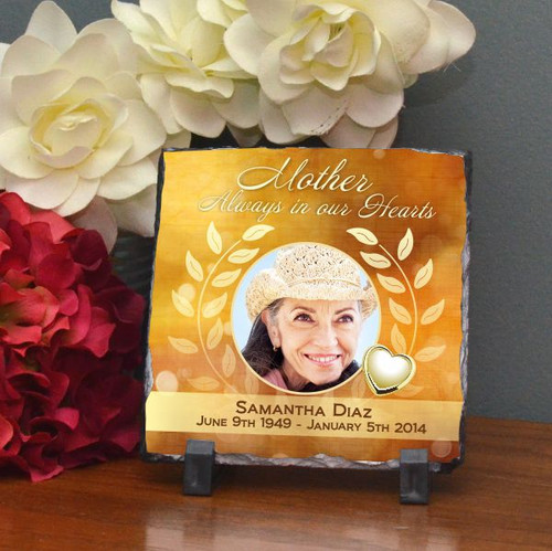 Mother's Heart of Gold Small Plaque