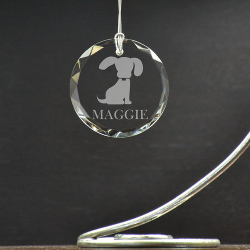 Personalized Pooch Ornament