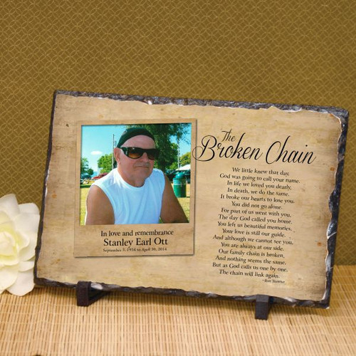 The Broken Chain Photo Plaque