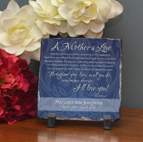 Mother's Love Small Stone Plaque
