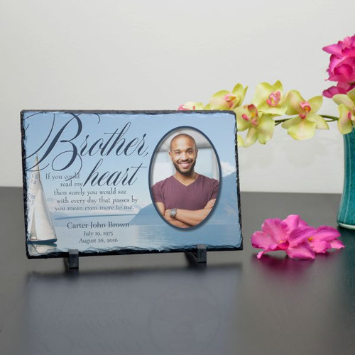 Brother in My Heart Plaque
